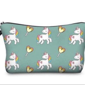 Handbags - Green Unicorn and Lollipop Bag